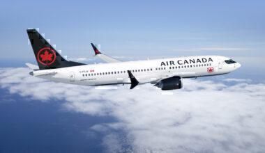 Air Canada, Boeing 737 MAX, Sale