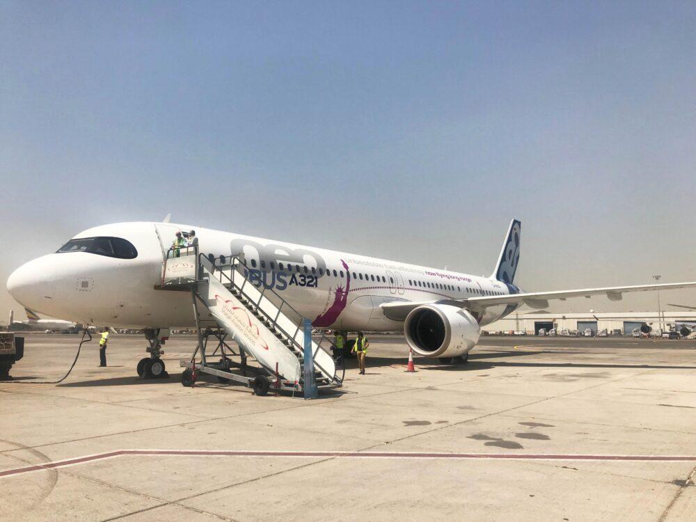 Longest A321LR flight