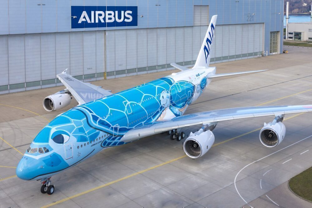 Airbus A380, All Nippon Airways, Delivery