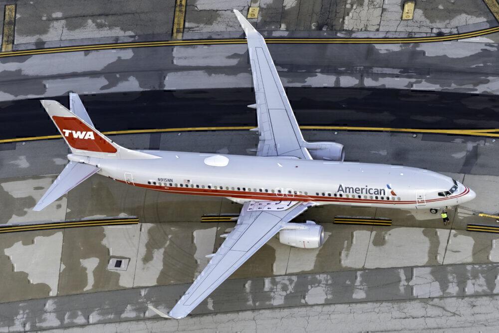 American Airlines (TWA Heritage Livery) Boeing 737-823 N915NN
