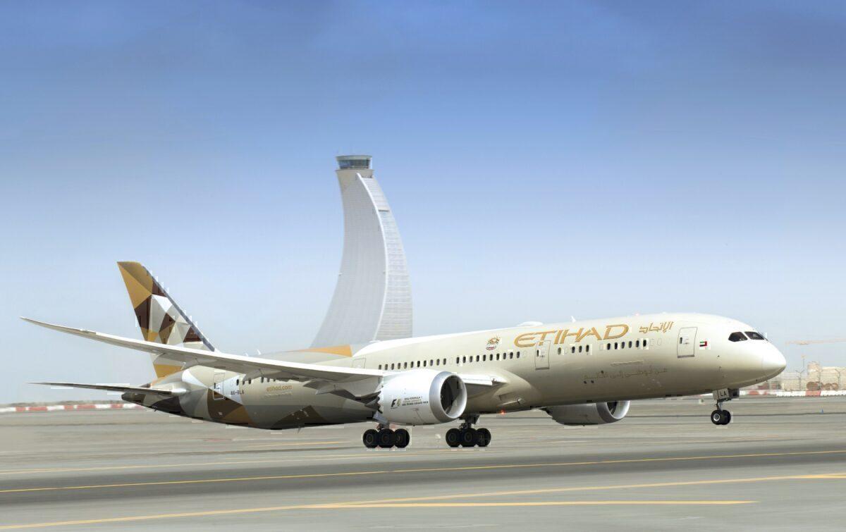 Etihad Airways Boeing 787