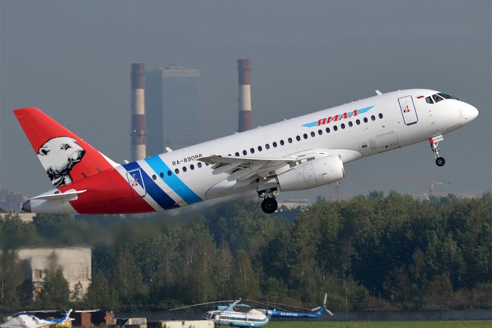 Yamal Airlines Superjet 100