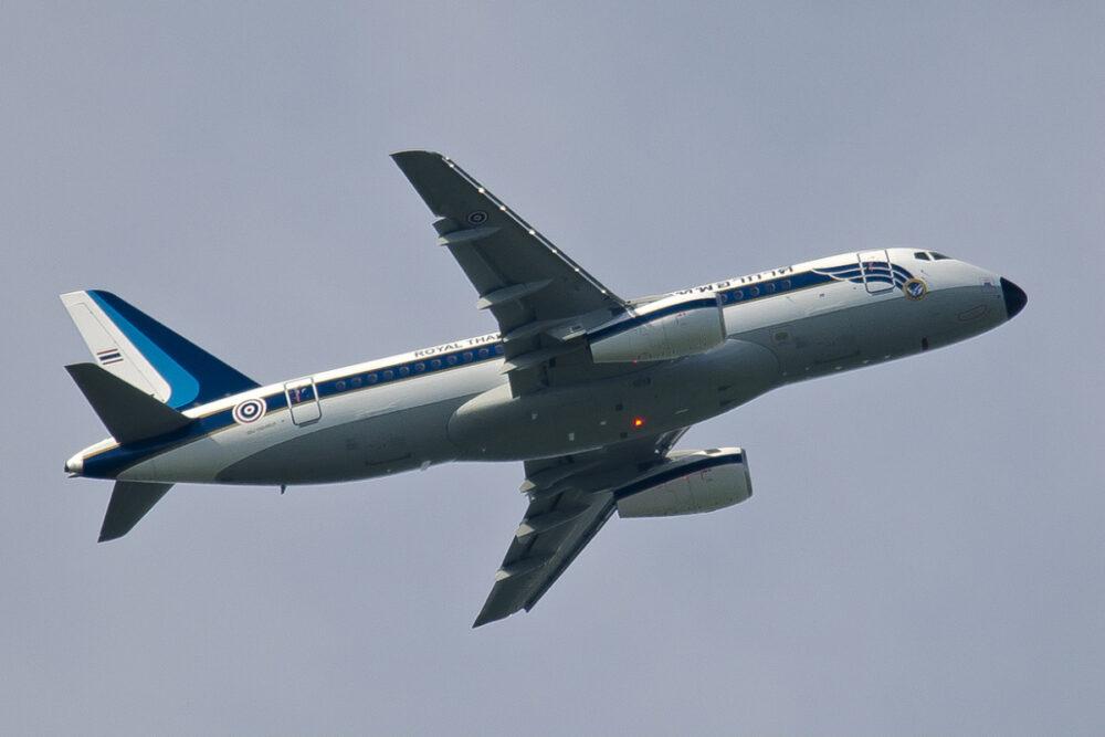 Royal Thai Air Force Sukhoi Superjet