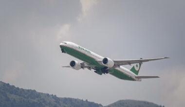 Eva Air Boeing 777