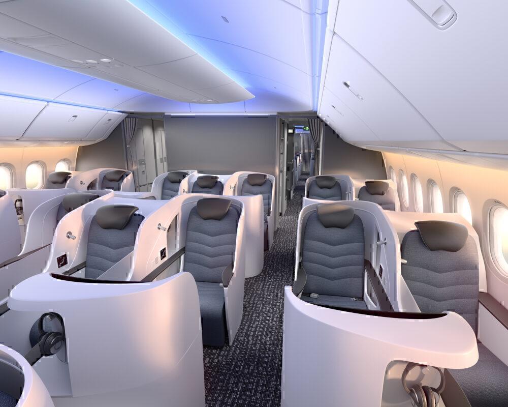 777X Interior