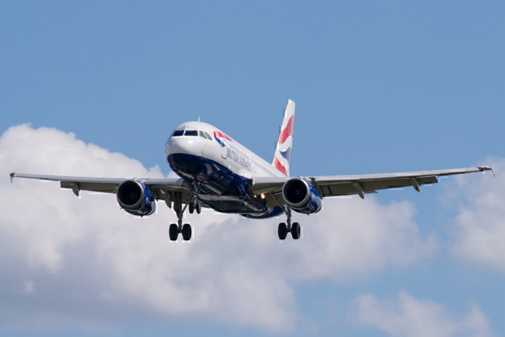 British Airways, Airbus A320, London Heathrow