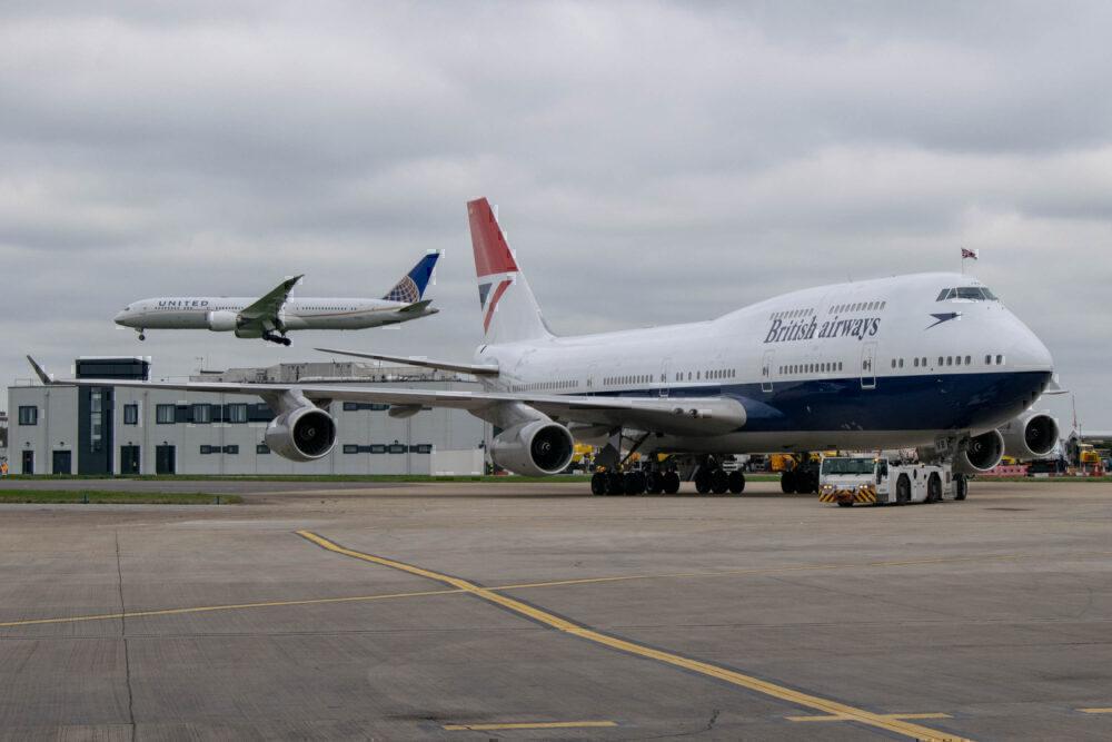 British Airways, Boeing 747, Negus