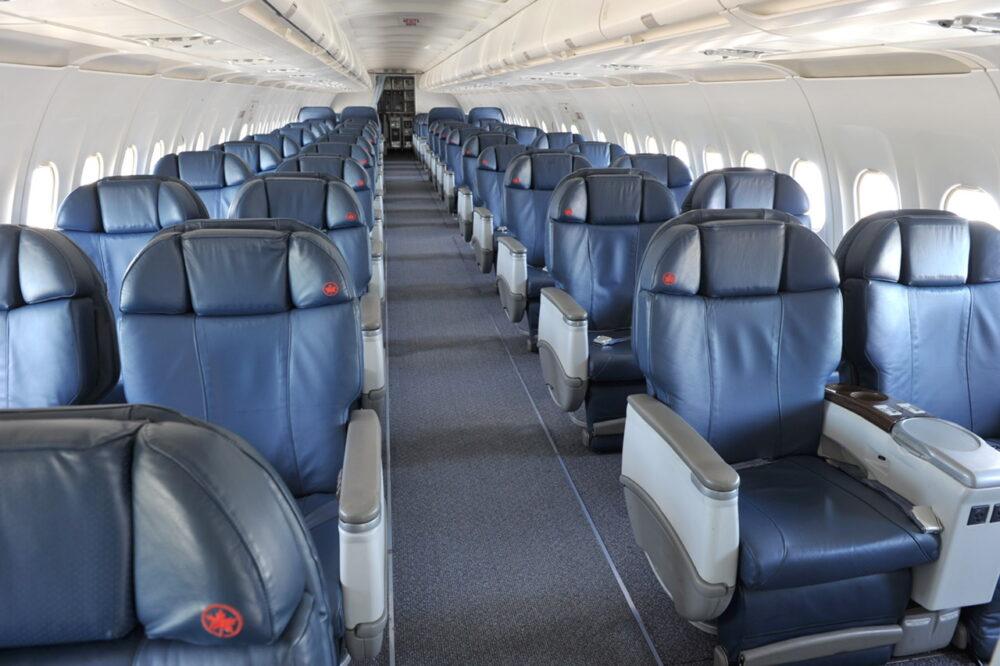 Air Canada Jetz Seats