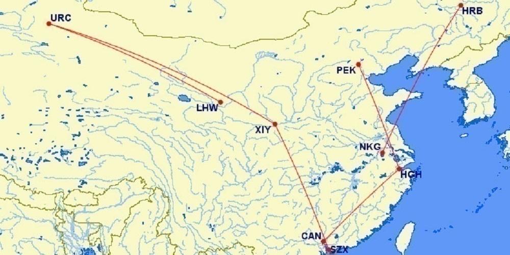 China Domestic Map