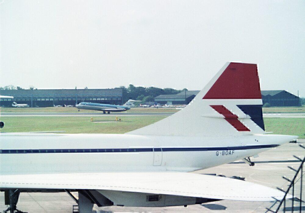 G-BOAF Concorde