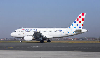 Croatia Airlines Airbus aircraft