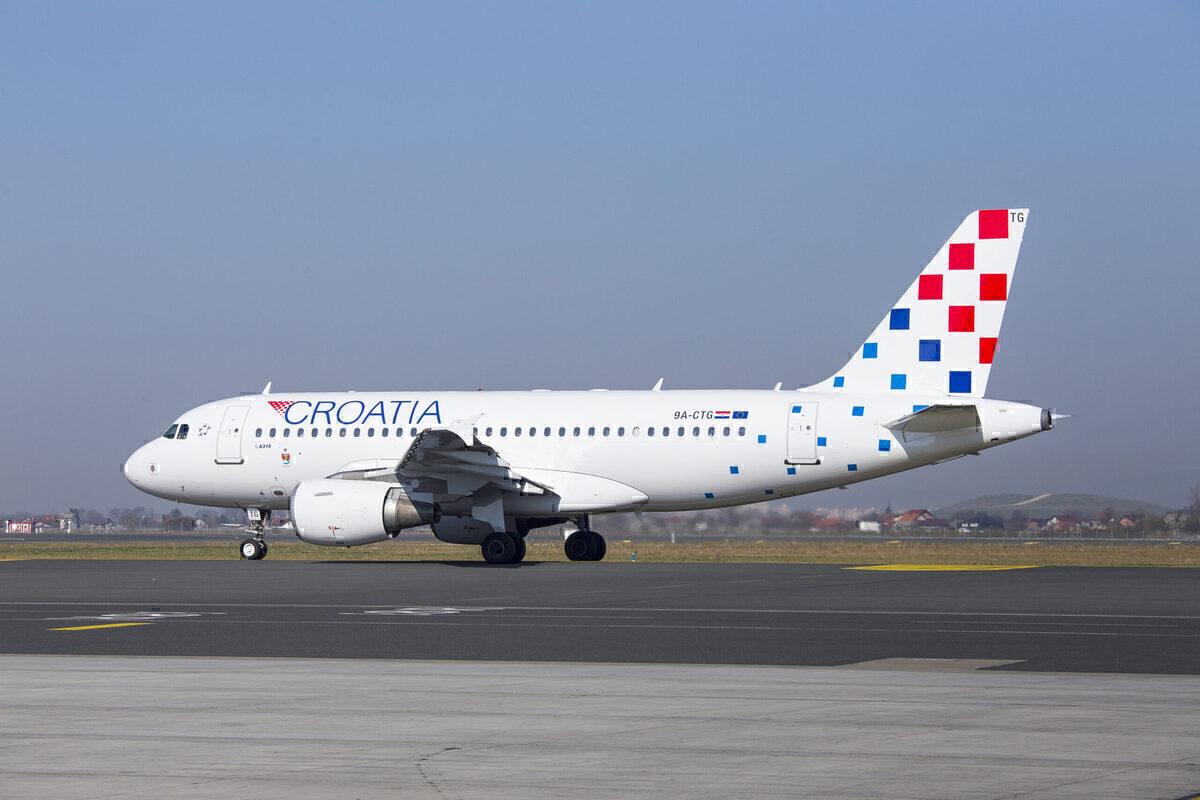 Croatia Airlines Airbus aircraft
