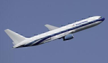 Eastern Airlines Boeing 767-336(ER) N706KW