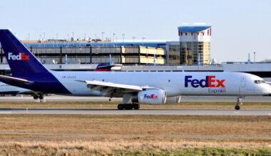 Fedex 757