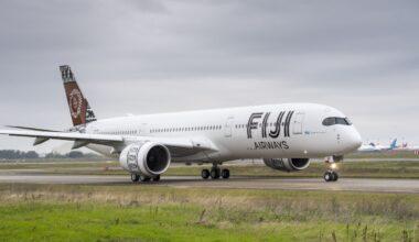 Fiji Airways A350