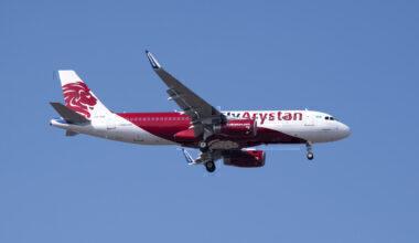 FlyArystan, Air Astana, Airbus A320