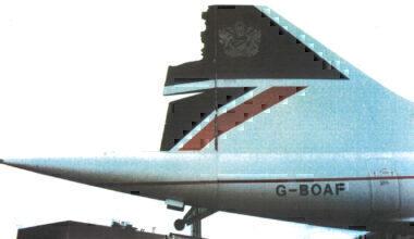 G-BOAF rudder damage