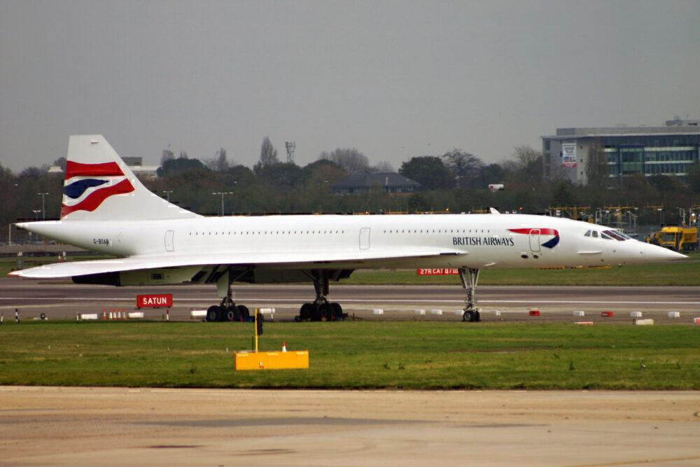 G-BOAB Concorde