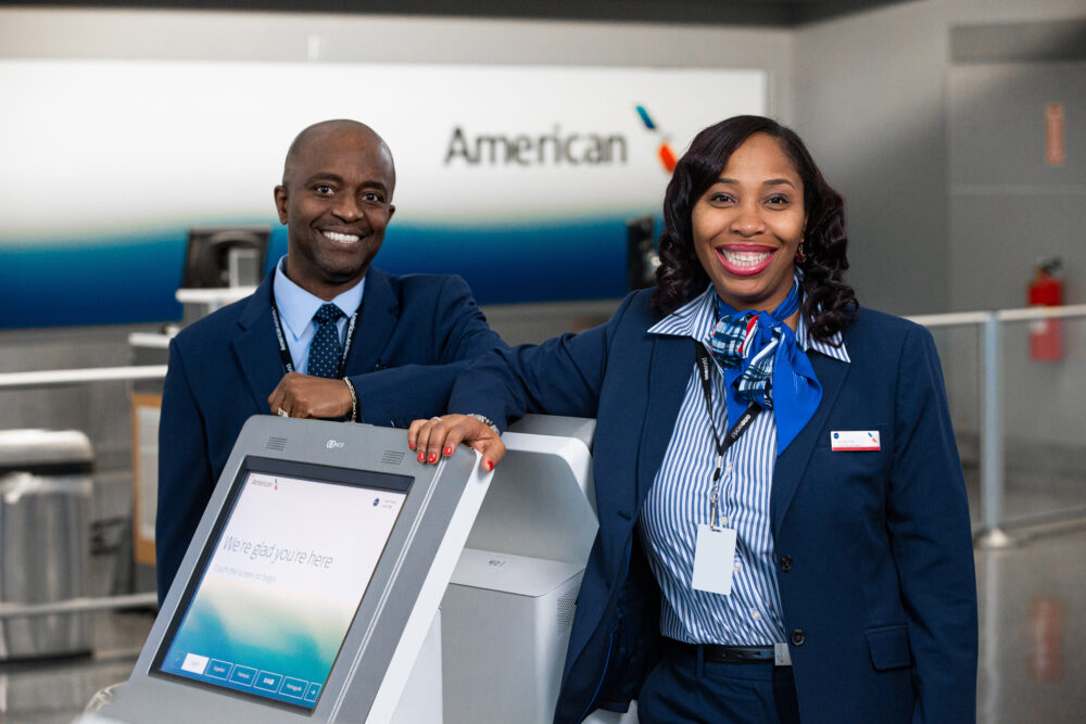 American Airlines, Mobile Identity Verification, Touchless Check In