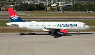 Air Serbia A320