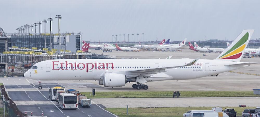 Ethiopian flight ban Shanghai