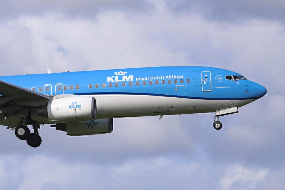 KLM, Boeing 737, Airbus A330, Storage
