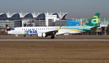 Arkia Embraer 190