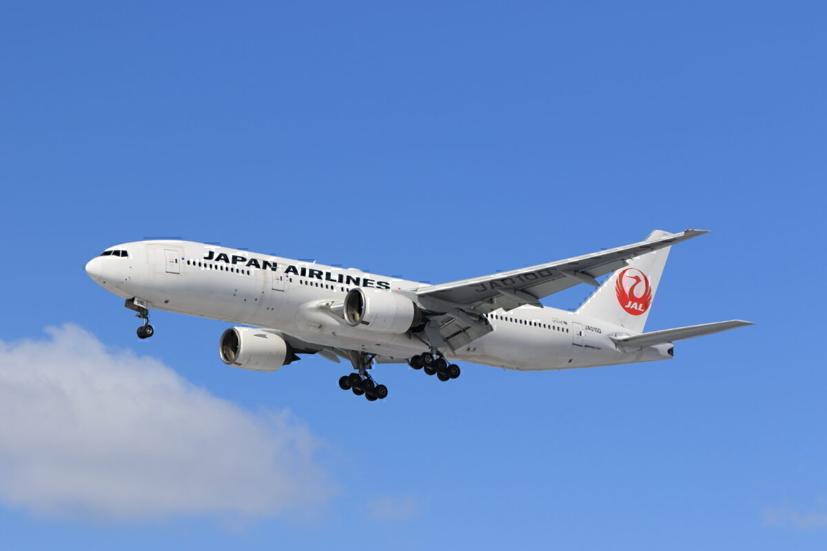 JAL 777 Getty