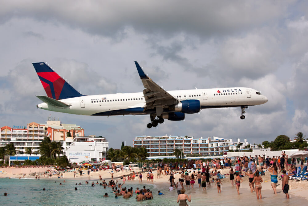 Delta Boeing 757 Getty