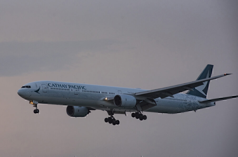 Cathay Pacific Getty