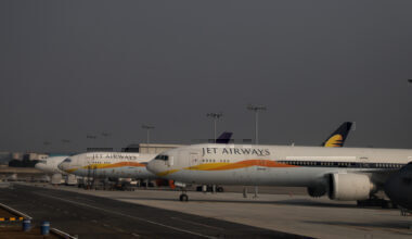 Jet Airways widebody Getty