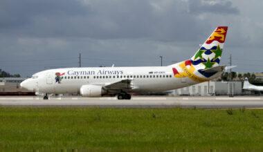 cayman airways changes schedule due to Delta storm