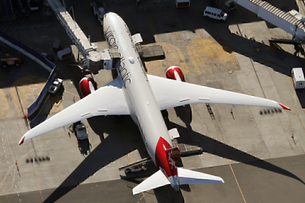 Virgin Atlantic Boeing 787 dreamliner India