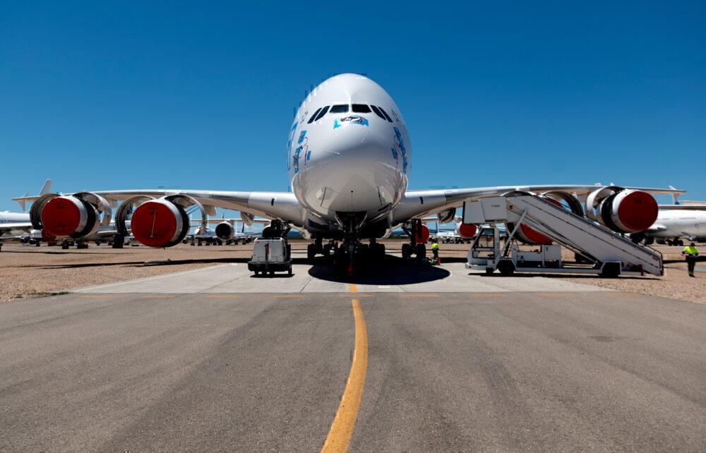 Lufthansa, Airbus A380, Retired