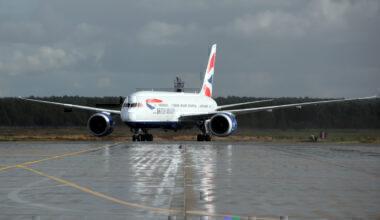 British Airways, Long Haul, Fleet Status