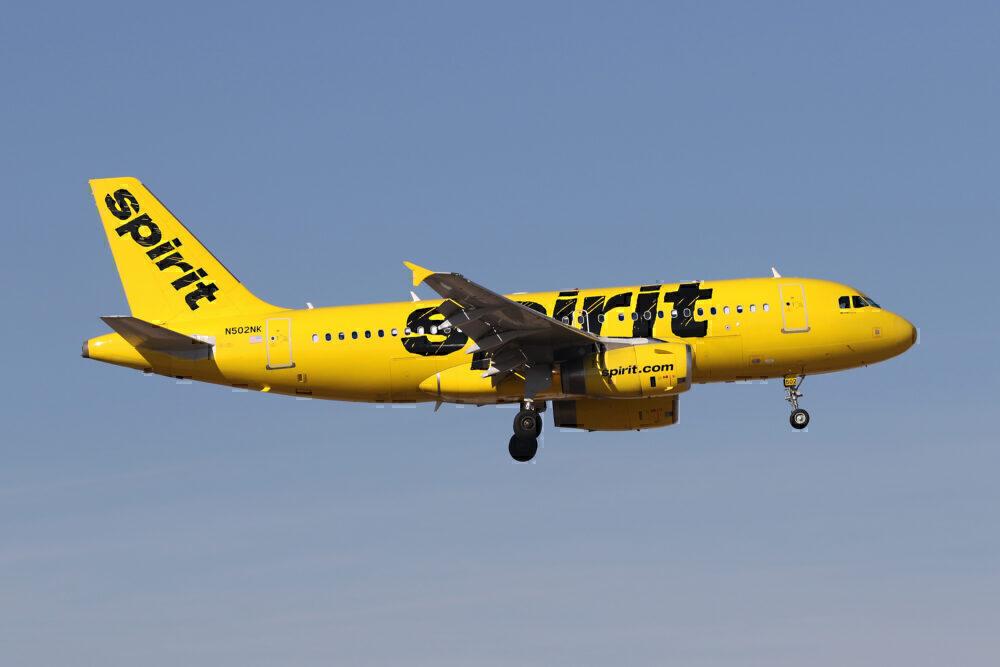 Spirit Airbus A319 Getty