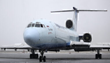 Tupolev-154 passenger plane makes last commercial flight in Russia