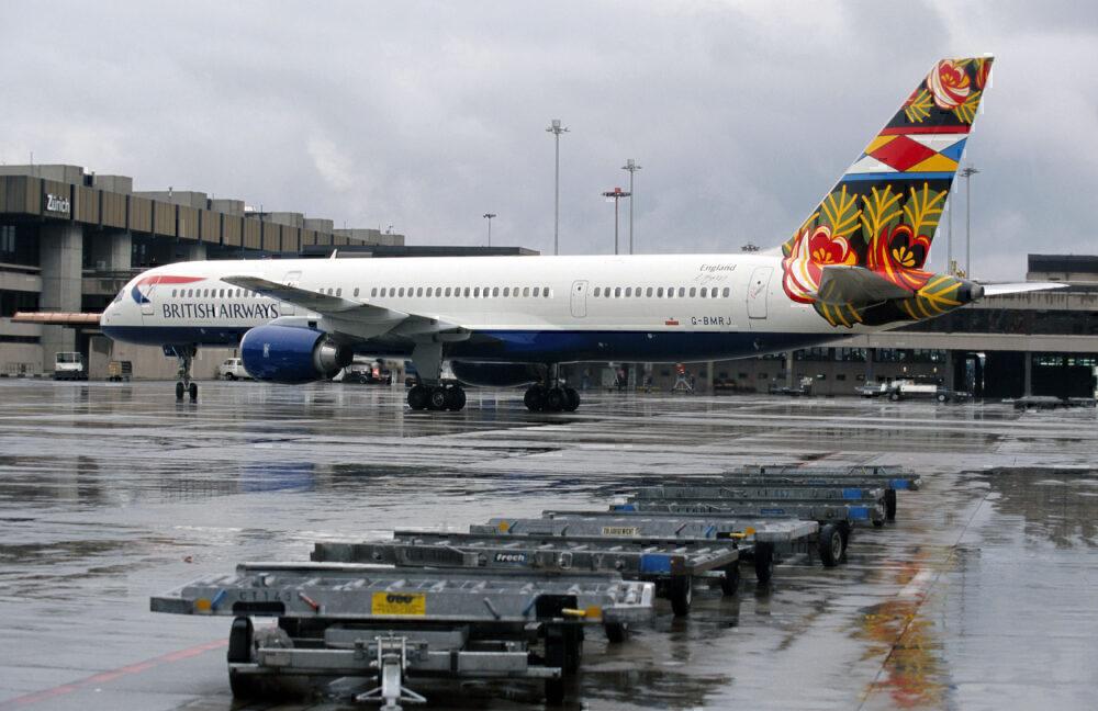 10 Years Ago British Airways Operated Its Final Boeing 757 Flight