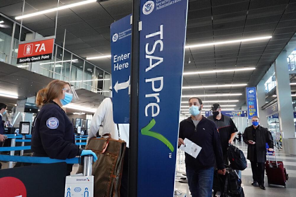 Passengers TSA