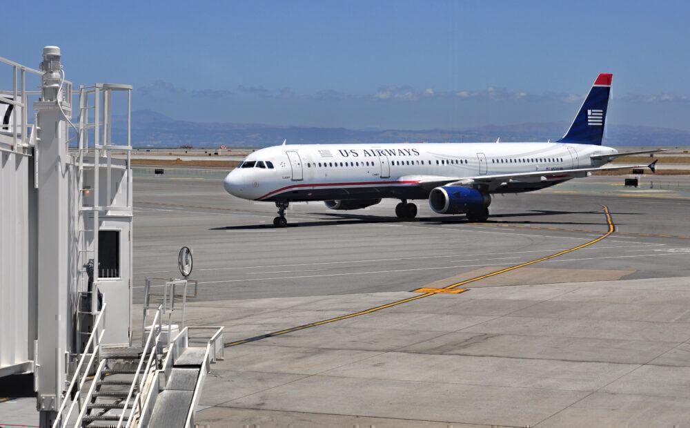 US Airways A321 Getty