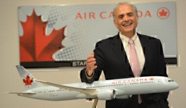 Calin Rovinescu Air Canada CEO