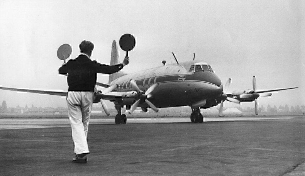 Vickers Viscount getty
