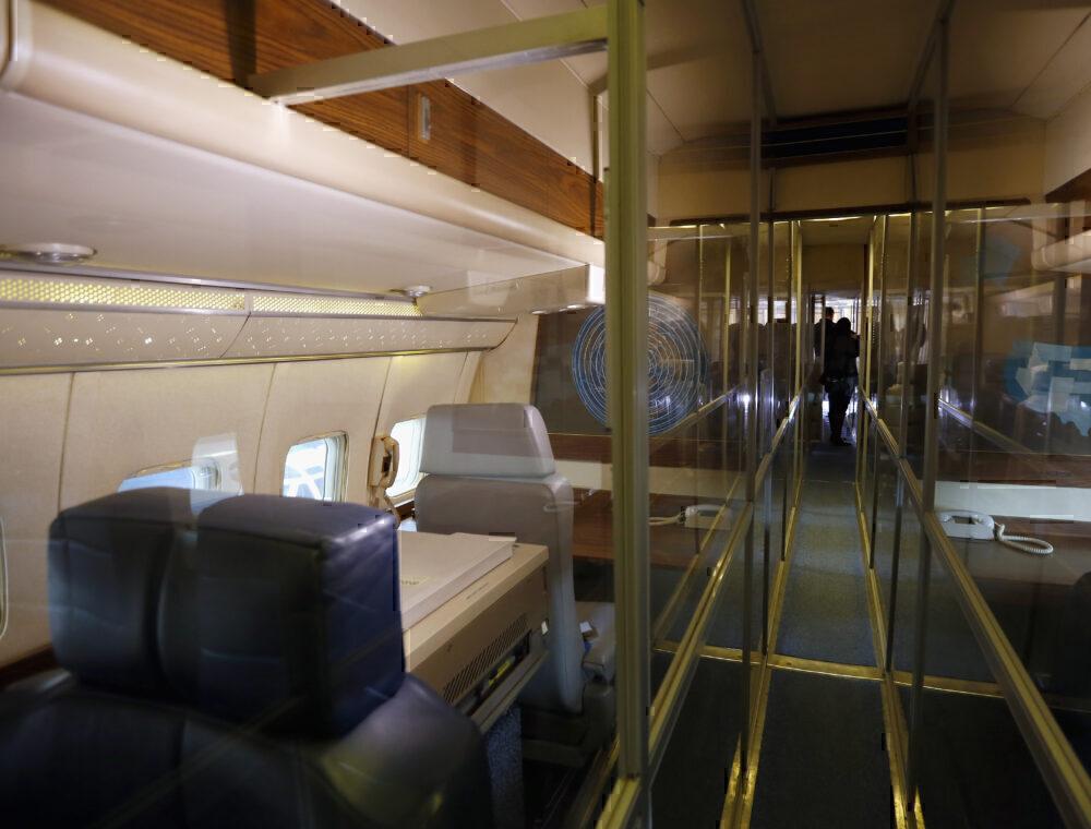 The interior of SAM 26000