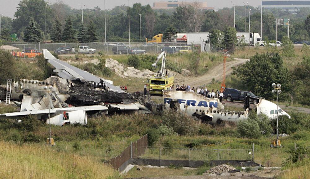 Air France A340 Toronto crash