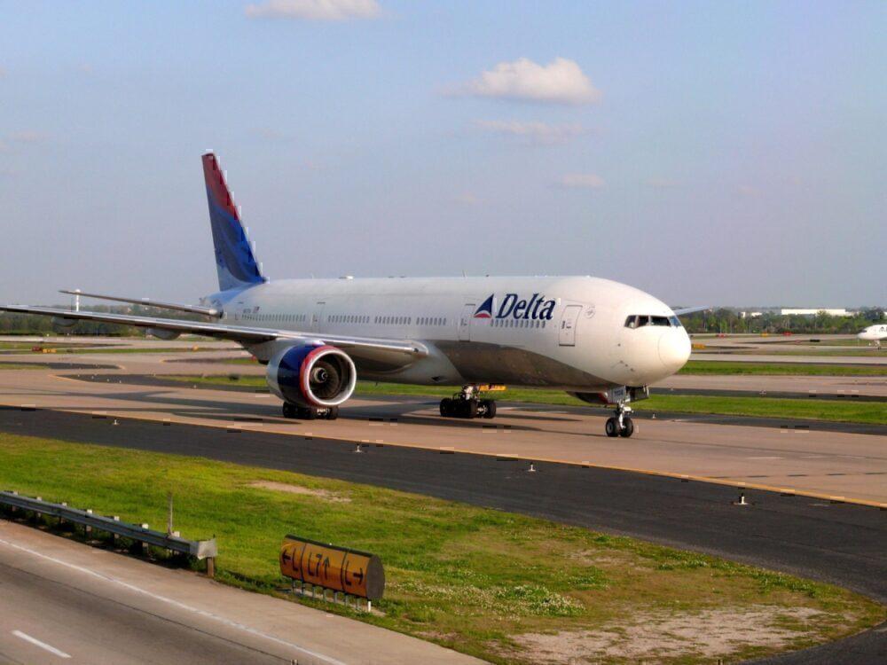 Delta Boeing 777 Getty
