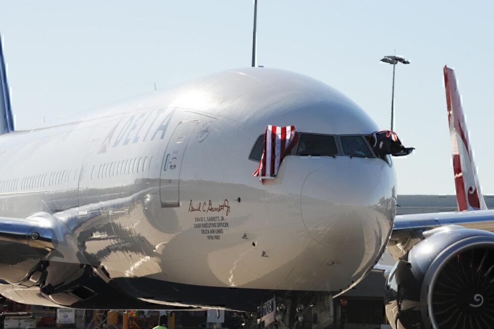 Delta 777 sydney
