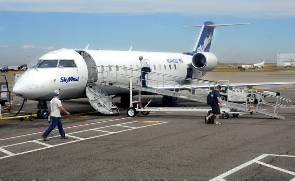 SkyWest CRJ Getty