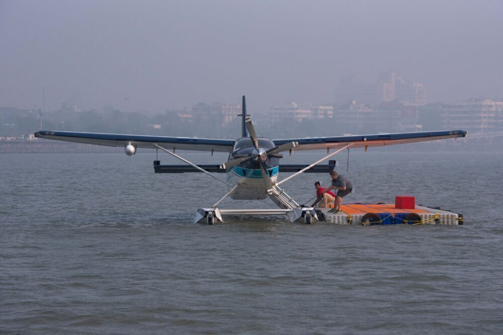 SpiceJet Conducts Seaplane Trials In Mumbai