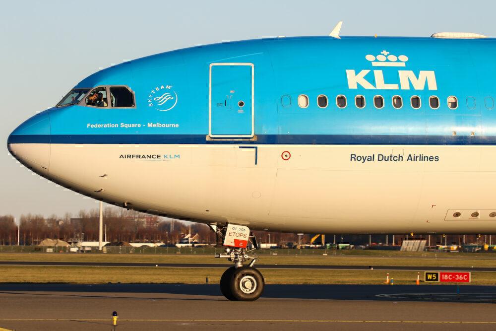 KLM A330 Getty