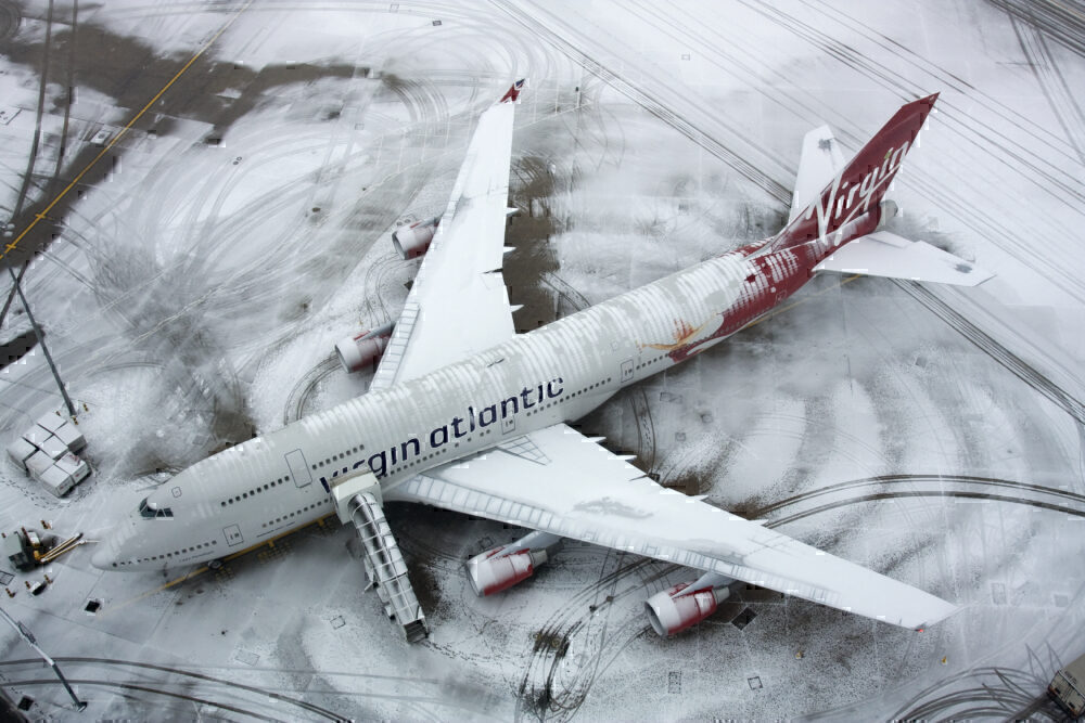 Virgin Atlantic, Last Boeing 747, London Heathrow